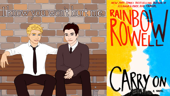 It's the BIGGEST DAY EVER for Fanfic: Rainbow Rowell's <i>Carry On</i> Is Out