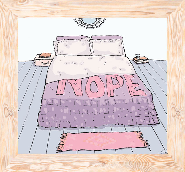 Quilt Covers That Tell It Like It Is