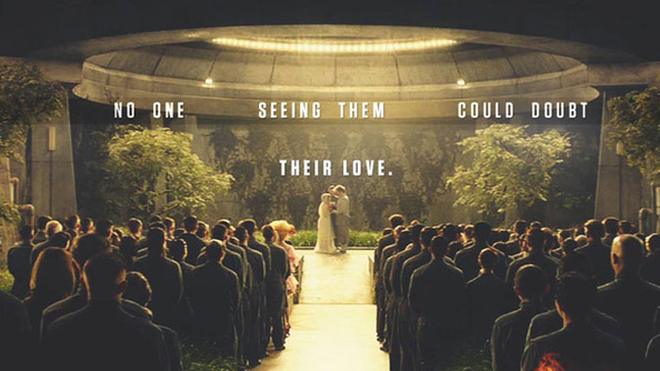 Annie and Finnick's Wedding Is Everything in <i>Mockingjay Part 2</i> Sneak Peek