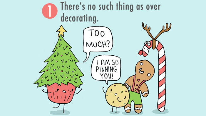 The 12 AGGRESSIVELY ADORABLE Stages of Christmas