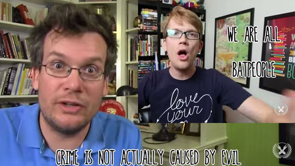 Hank and John Green Have an Epic Argument About Batman: WHOSE SIDE ARE YOU ON?