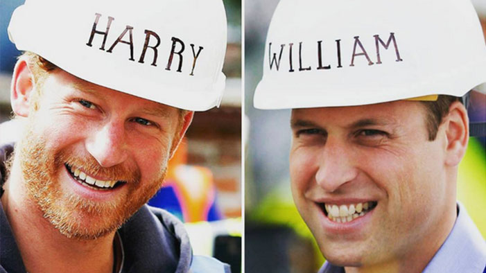 Kensington Palace Took Up My Suggestion for Royal Name Tags