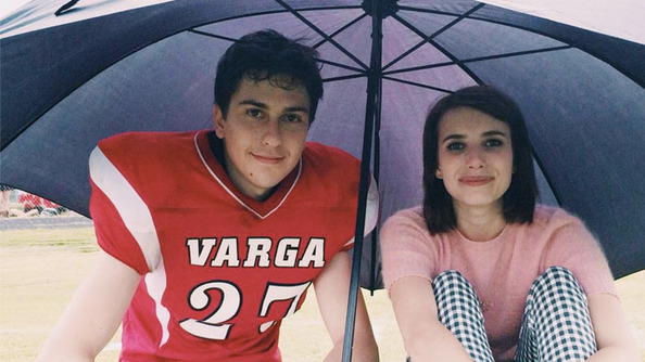 Nat Wolff Told Teen Vogue He Didn't Like Kissing Emma Roberts
