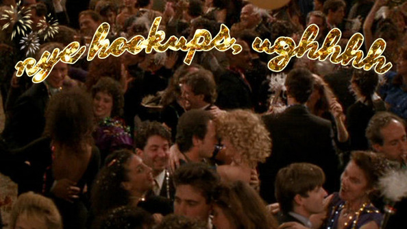 What to Do If You're Kiss-less on NYE