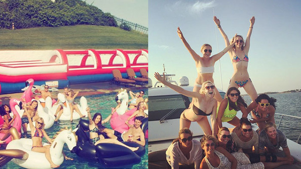 Vote: T-Swizz or Amy Schumer Pool Party?