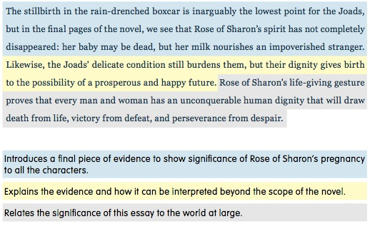 5 paragraph essay endings