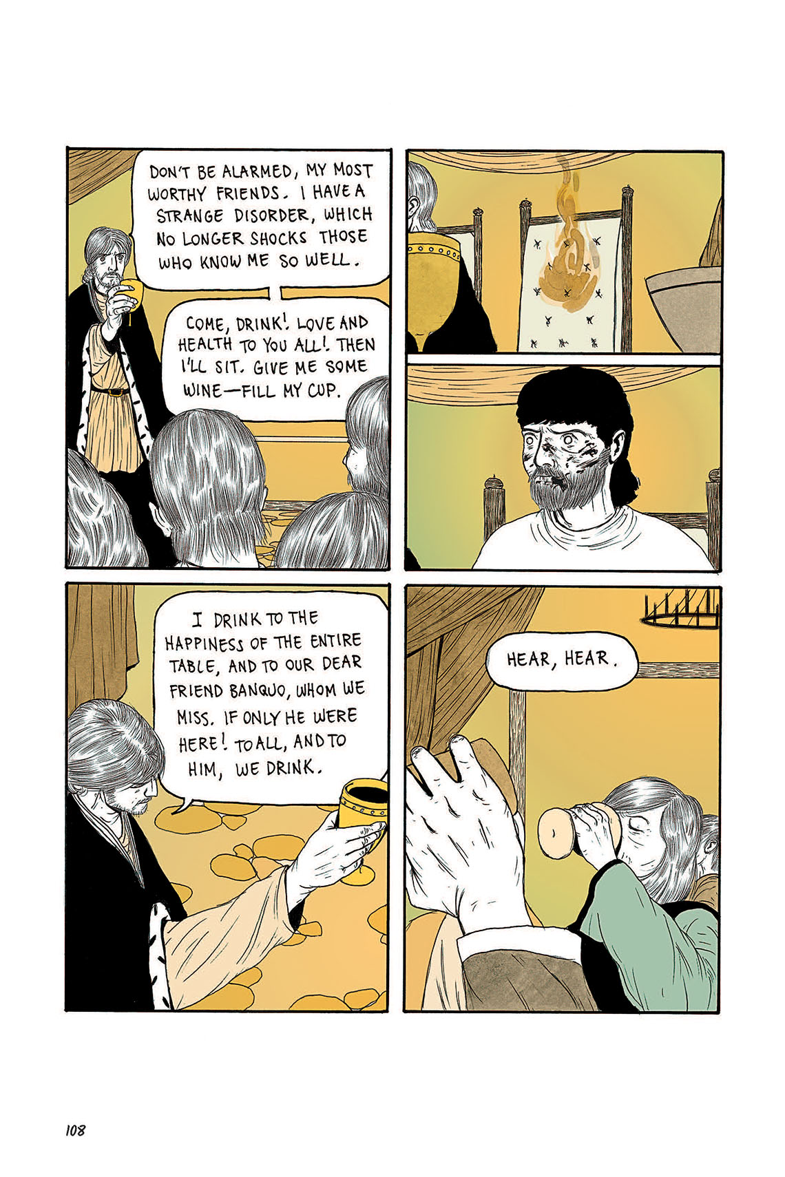 Macbeth Act 3 Scene 4 Page 108 Graphic Novel Sparknotes Sparknote 6
